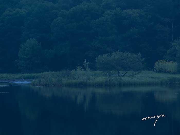 早朝の湖_c0085877_6233827.jpg