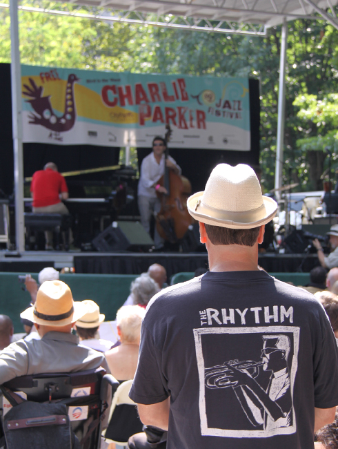 Charlie Parker Jazz Festival 2017 - 25周年を迎えたNYの無料野外ジャズ・フェスティバル_b0007805_4244879.jpg