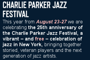 Charlie Parker Jazz Festival 2017 - 25周年を迎えたNYの無料野外ジャズ・フェスティバル_b0007805_4323521.jpg