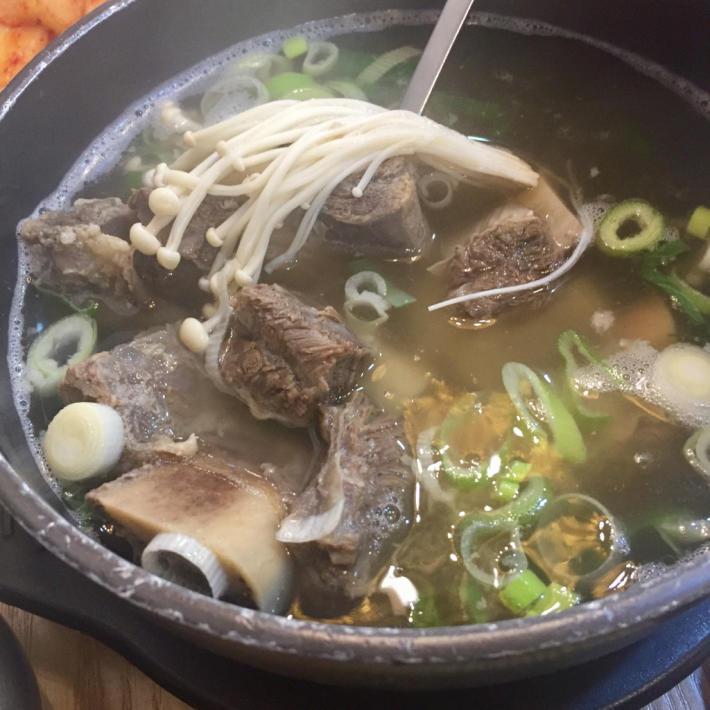 17年7月ソウル 10☆夕食は明洞で熱々スープもの_d0285416_20210948.jpg