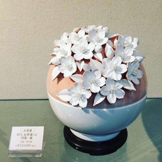 桜 花水木 百合 博多献上柄 の 美の壺_b0223370_18573442.jpg
