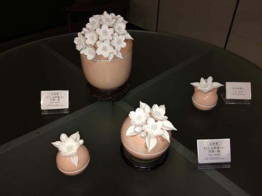 桜 花水木 百合 博多献上柄 の 美の壺_b0223370_18573519.jpg