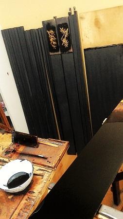 仏壇のすす洗い・修繕のお仕事 その4 2017.08.24_c0213599_23351871.jpg