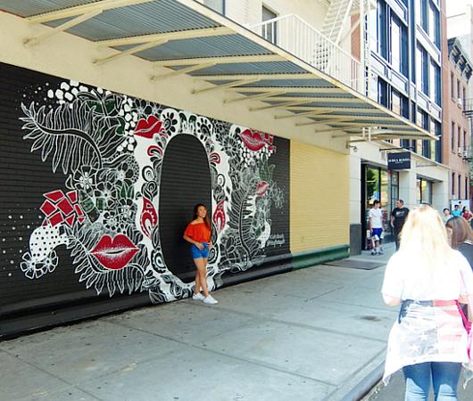 ハートいっぱいのNYの街角アート、「ラブ・ウォール」(Love Wall)が異例の増殖 by HEKTAD_b0007805_6522313.jpg