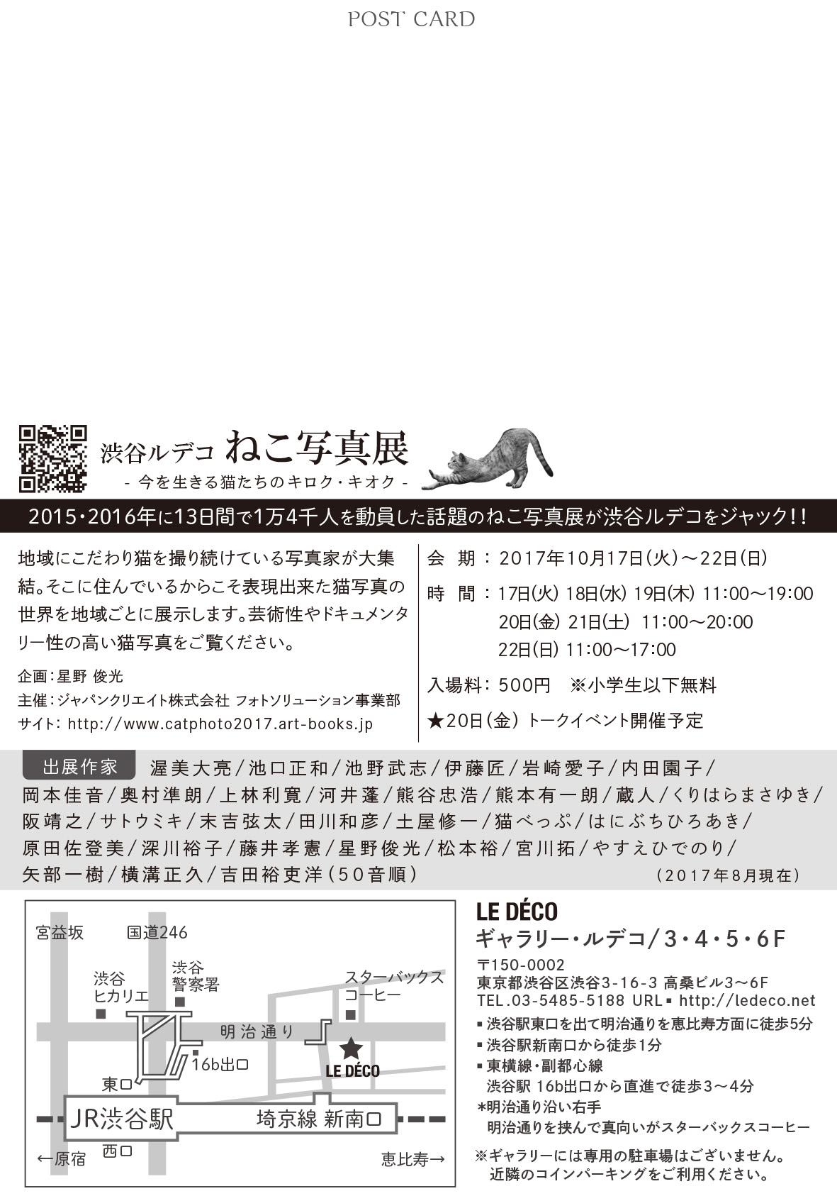 渋谷ルデコねこ写真展_c0194541_17494634.jpg