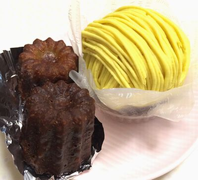 買いケーキ&ハムオニオンのパン_f0191248_10354445.jpg