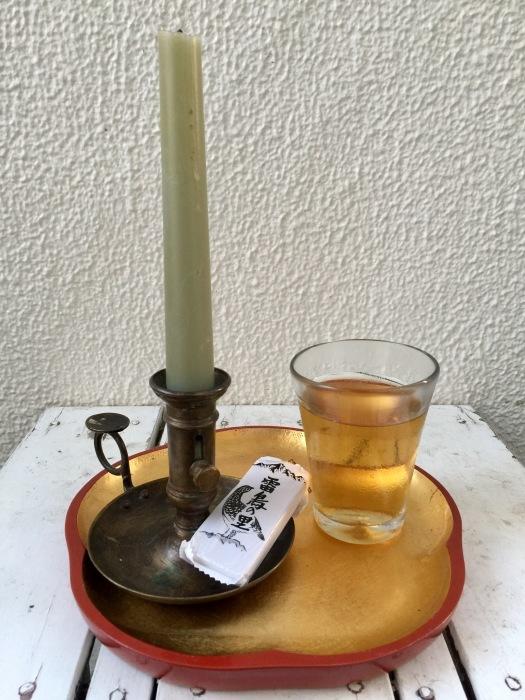 お茶の時間と蝋燭と秘密・・・の巻_d0105967_12413108.jpg