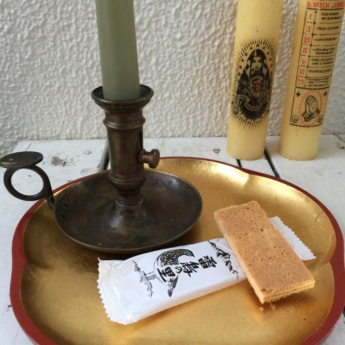 お茶の時間と蝋燭と秘密・・・の巻_d0105967_12450059.jpg