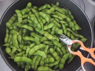 今年もいただきました。「殿様のだだちゃ豆」 冷凍しました。_f0362073_18145171.jpg
