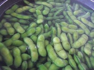今年もいただきました。「殿様のだだちゃ豆」 冷凍しました。_f0362073_18161980.jpg