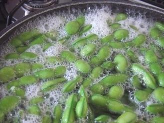 今年もいただきました。「殿様のだだちゃ豆」 冷凍しました。_f0362073_18163656.jpg