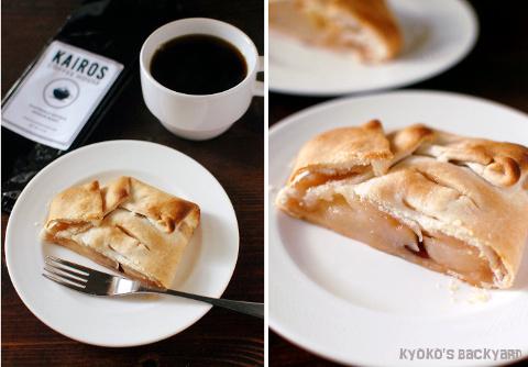 自家製チェリートマトのピザ。洋梨とりんごのパイ。_b0253205_15154872.jpg