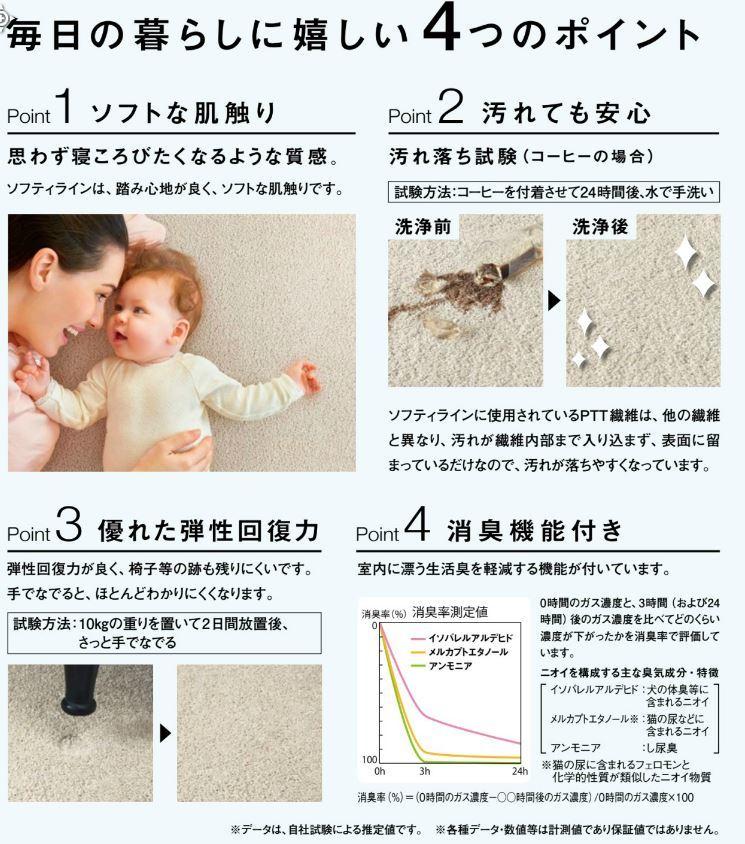 川島織物セルコン ユニットラグ_e0243413_16245641.jpg