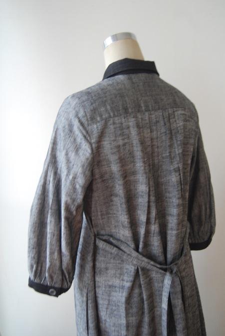 着物リメイク・紬の着物からピンタックワンピース_d0127925_21285852.jpg