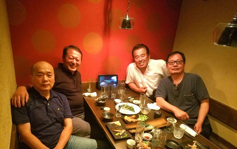 新居浜私立川東中学1期生(3年生)として青春を共に過ごした仲間が松山に集結。_c0186691_16021412.jpg
