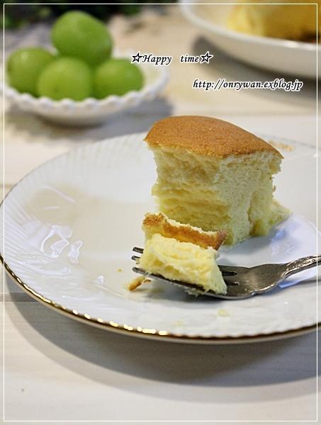 海苔巻き弁当とスライスチーズでチーズケーキ♪_f0348032_18595313.jpg