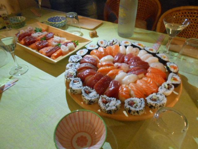 寿司パーティー♪♪のはずが、、、_b0305039_442589.jpg