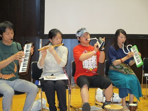 野村誠 千住だじゃれ音楽祭「第2回 だじゃれ音楽研究大会」本番_b0135942_10495452.jpg