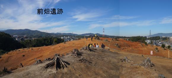 前畑遺跡は羅城の土塁?版築の様相を見る_a0237545_15292401.png