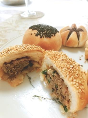 胡椒餅、菊花パイレッスン_a0175348_17243015.jpg