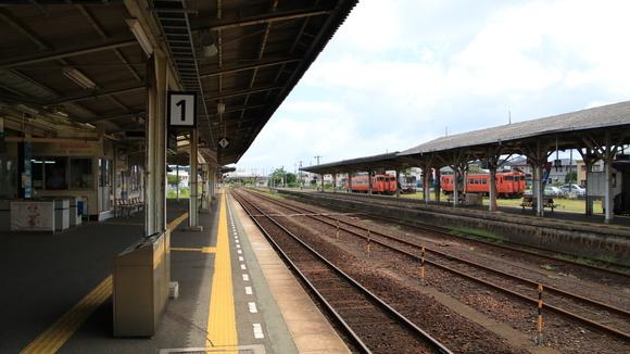 美祢線  長門駅 到着!_d0202264_11163119.jpg