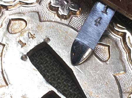 陸軍将校用制式軍刀・所持許可書付_a0154482_17520725.jpg