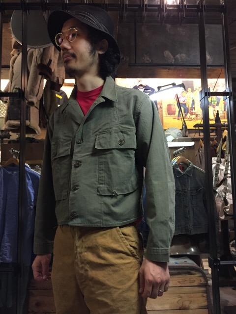 秋に最適なミリタリーHBT!!(大阪アメ村店)_c0078587_2012748.jpg