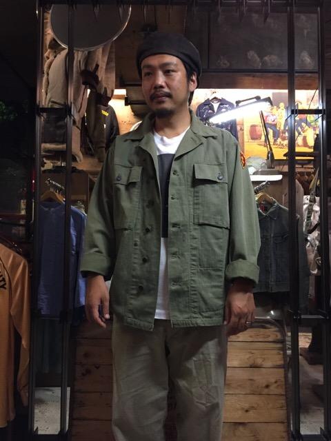 秋に最適なミリタリーHBT!!(大阪アメ村店)_c0078587_2022081.jpg