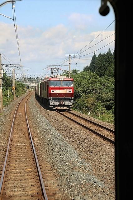 藤田八束の鉄道写真@青い森鉄道の鉄道写真、りんごの笑顔が見える岩木山、貨物列車「金太郎」と青い森鉄道_d0181492_21482770.jpg