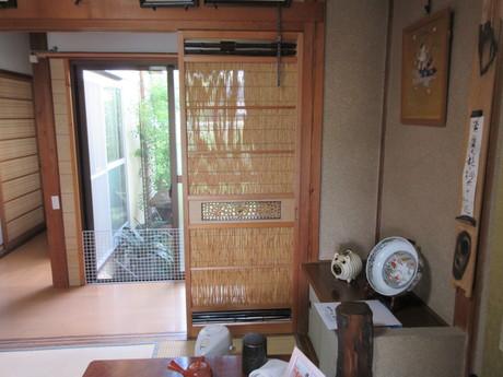 夏座敷・簀戸を通る風_a0203003_20293213.jpg