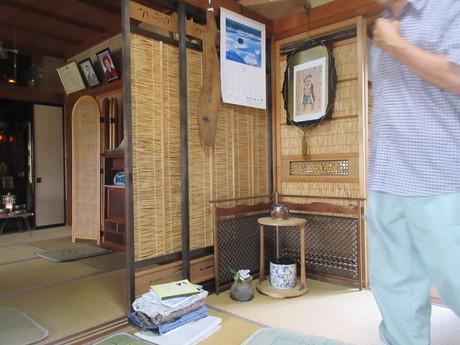 夏座敷・簀戸を通る風_a0203003_20301654.jpg
