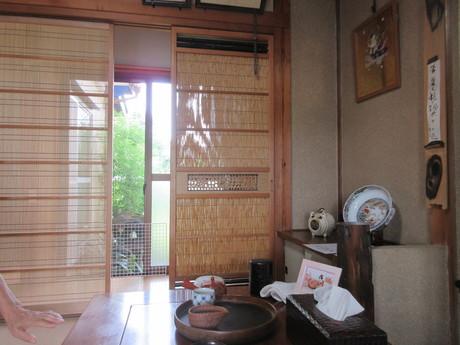 夏座敷・簀戸を通る風_a0203003_20304155.jpg