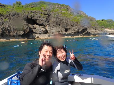 8月28日本日も慶良間から青の洞窟まで!!_c0070933_22291319.jpg