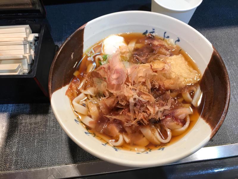 名古屋駅のきしめん_a0359239_01575958.jpg