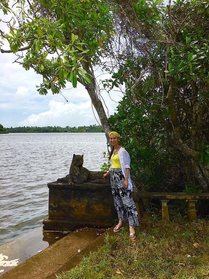 スリランカの旅~ジェフリー・バワ邸「ルヌガンガ (Lunuganga) 」を探訪💓_a0138976_14271057.jpg