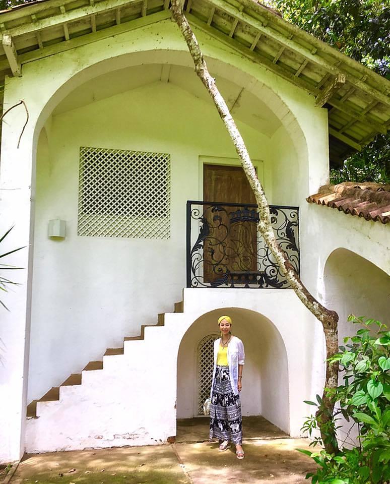 スリランカの旅~ジェフリー・バワ邸「ルヌガンガ (Lunuganga) 」を探訪💓_a0138976_14382053.jpg