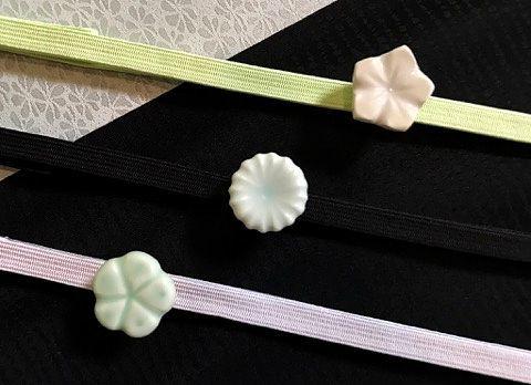臼杵焼(Usukiyaki) オリジナル帯留完成しました^^_d0230676_15580978.jpg