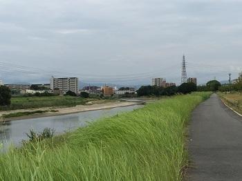 チビ輔の練習見た後に~ 大和川散歩~☆_e0123286_18505540.jpg