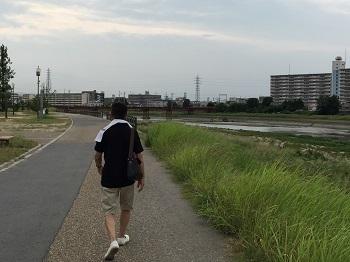 チビ輔の練習見た後に~ 大和川散歩~☆_e0123286_18532851.jpg