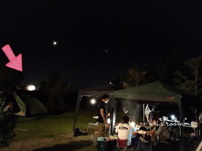 夏の終わりのキャンプとダイニングのドウダンツツジ。(´∀`)それからお知らせ(特に四国お住まいの方へ…)_a0341288_23000567.jpg