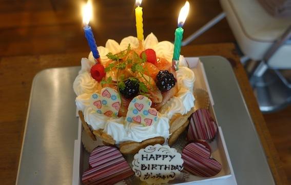 Happy Birthday かっちゃん_f0230689_16552700.jpg
