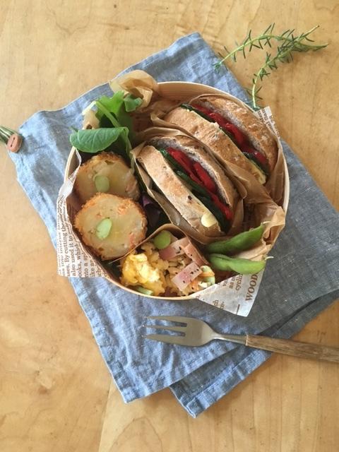 picnic ズッキーニサンドを作って♪_a0165160_08244381.jpg