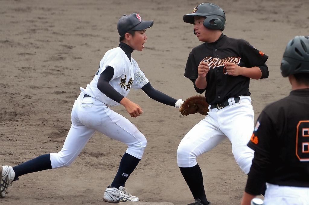 第38回鳥取ボーイズ大会 vs東広島ボーイズ4_a0170082_1022482.jpg