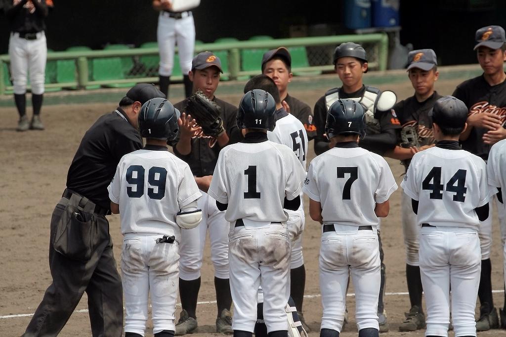 第38回鳥取ボーイズ大会 vs東広島ボーイズ5_a0170082_2131043.jpg