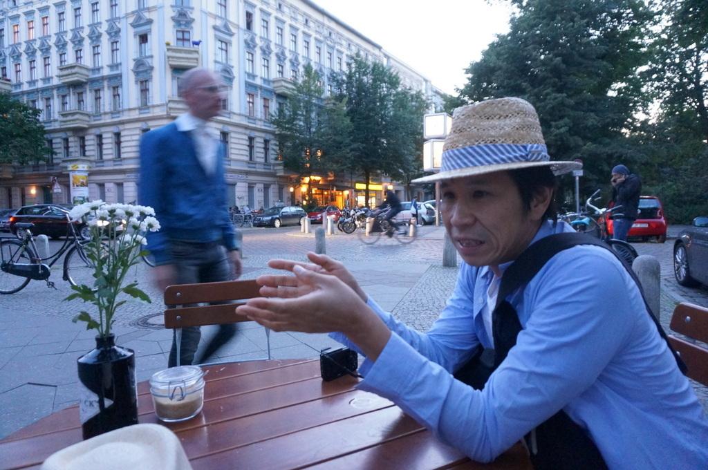 山梨からのKさん、来伯_c0180686_03445247.jpg