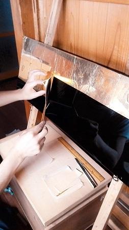 仏壇のすす洗い・修繕 その5 2017.09.09_c0213599_23020349.jpg