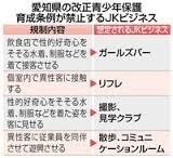 【愛知】JKビジネス店で女子高生働かせる 50歳の男逮捕 条例違反で摘発されたのは全国初 名古屋_b0163004_06304094.jpg