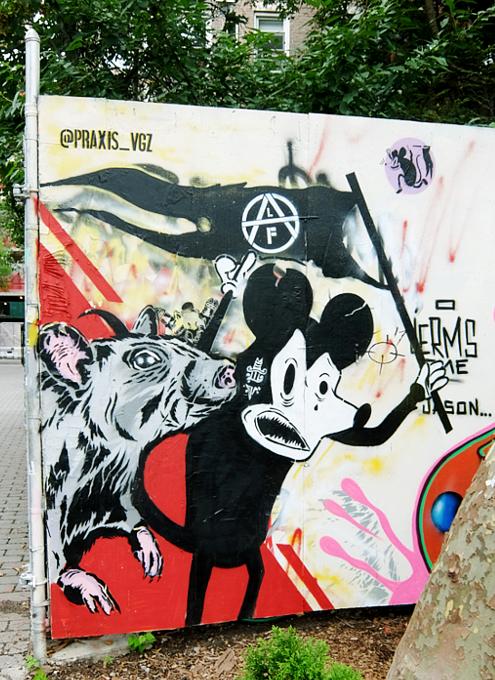 グラフィティだらけのNYの公園、First Street Green Art Park_b0007805_5475738.jpg