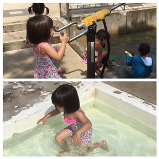 今日もお水遊び♪_f0243509_10065516.jpg