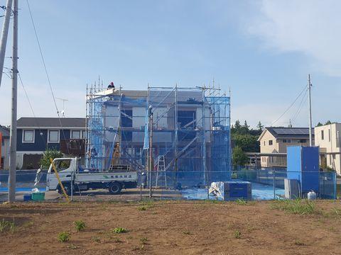 木造ドミノ住宅が上棟しました。_a0059217_10083878.jpg